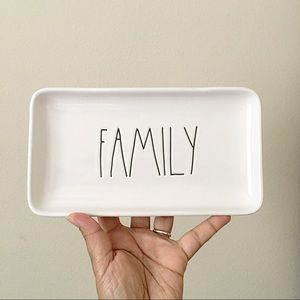 Rae Dunn Family Serving Platter